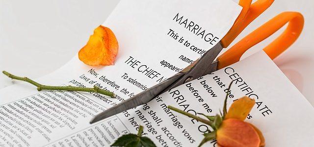 הסכם גירושין בין בני זוג