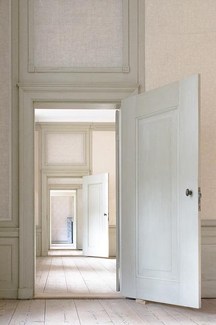 כך דלתות הפכו להיות חלק בלתי נפרד מעיצוב הבית